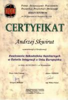certyfikat zwalczanie szkodników sanitarnych