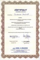 certyfikat czyszczenie