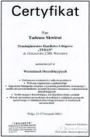 certyfikat warsztaty dezynfekcyjne