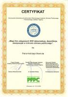 certyfikat usługi ddd