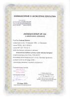 certyfikat fumigacja