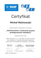 certyfikat monitorowanie i zwalczanie gryzoni