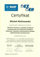 certyfikat pluskwa domowa