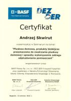 certyfikat zwalczanie pluskiew