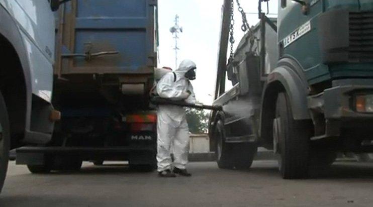 dezynfekcja pojazdów