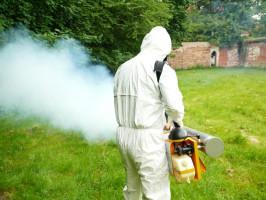 zamgławianie przeciw komarom